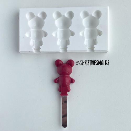 Mini Bear cakesicle silicone Mold