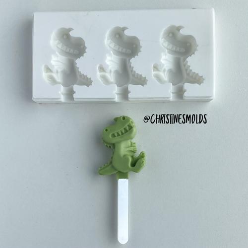 Mini Dinosaur cakesicle silicone Mold