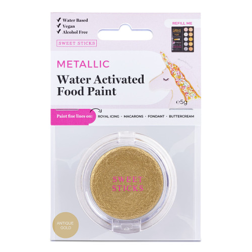 Antique Gold Water Activated paint