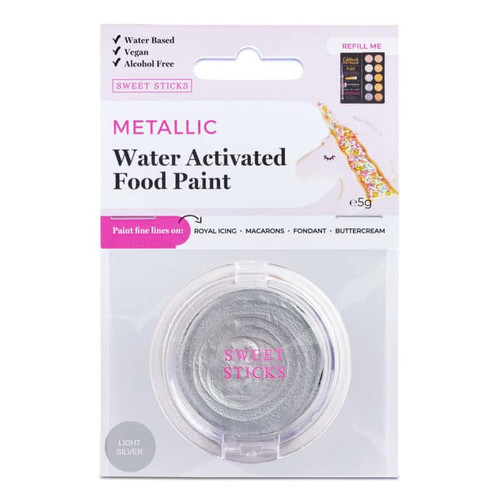 Light Silver Water Activated paint