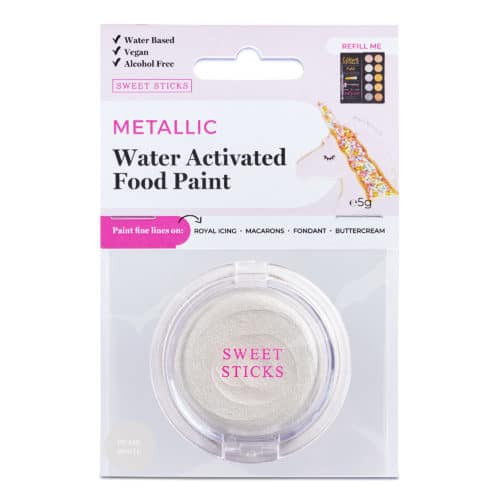 Pearl White  Water Activated paint
