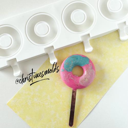 Donut cakesicle silicone Mold