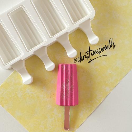 Classic  Mini Stripe cakesicle silicone Mold