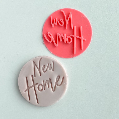 New Home Fondant /Cookie Embosser