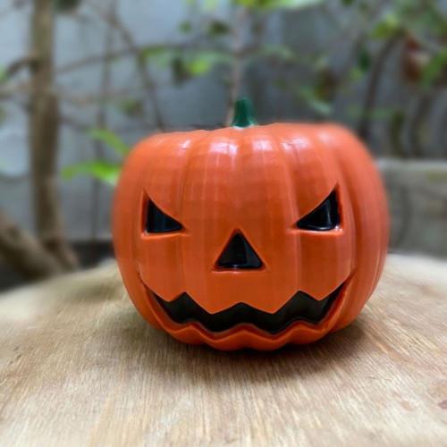 Medium Halloween Pumpkin -  3 Part Mold