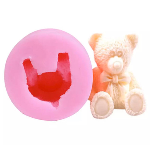 3d Teddy Bear Mold PM347