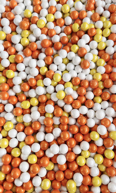 Candy Corn  Candy -Coated Balls -  Sprinkle Medley