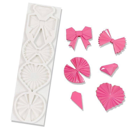 Bow Fancy  Silicone Mold PM649