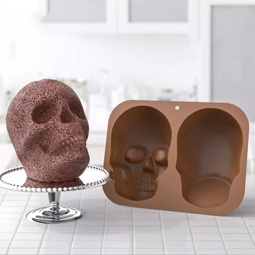 Skull Head Silicone Molds