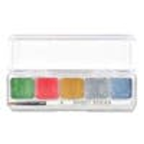 Christmas Mini Palette Water Activated paint