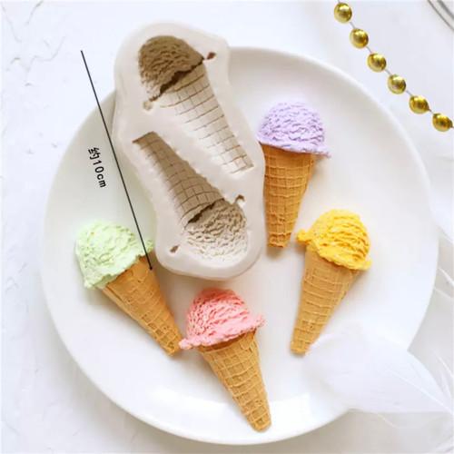 Ice Cream cone Silicone Mold PM652