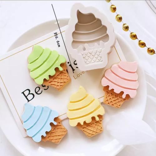 Ice Cream  twist Silicone Mold PM651