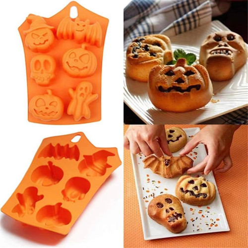 Halloween baking  silicone Mold