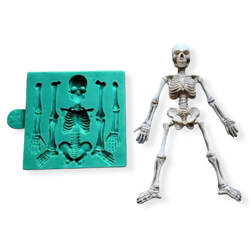 Skeleton Bones Molds