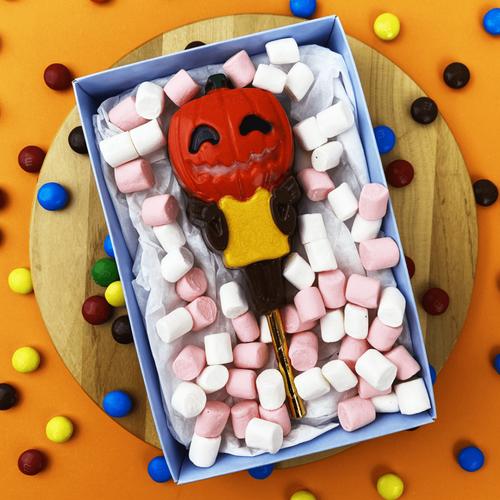 Halloween pumpkin  Lollipop  - 3 Part Mold