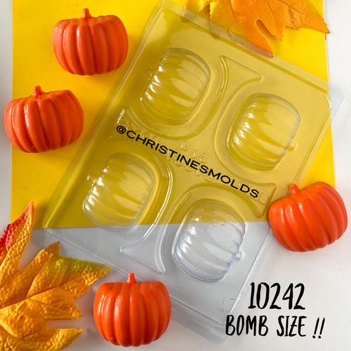 Pumpkin Bomb Size  - 3 Part Mold