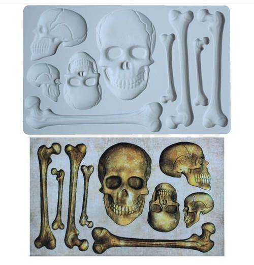 Skull Head Molds Set