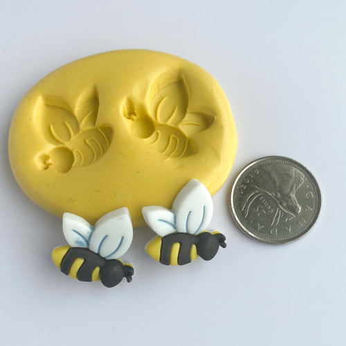 Bee  with wings Silicone mold