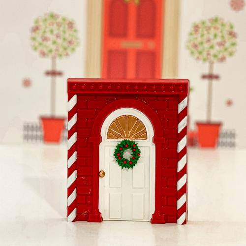 CHRISTMAS DOOR -   3 Part Mold