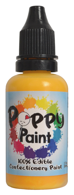 Yellow  - Poppy Paint