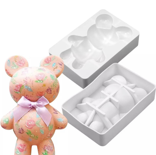 Bear  Large Silicone Mold