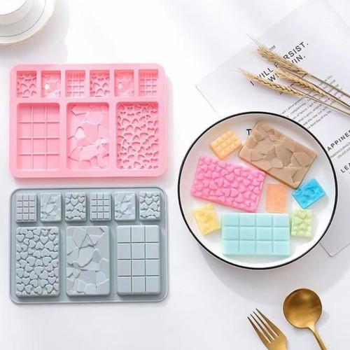 Cake Bar  Shape silicone Mold