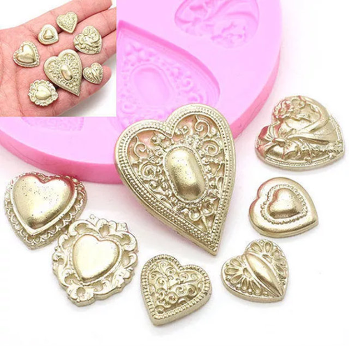 Heart Set Mold -PM262
