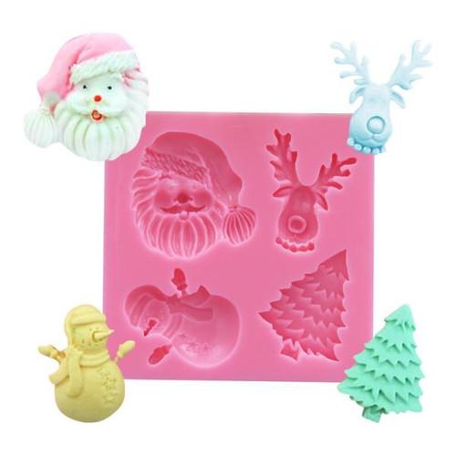 Christmas Silicone Mold set  SE26