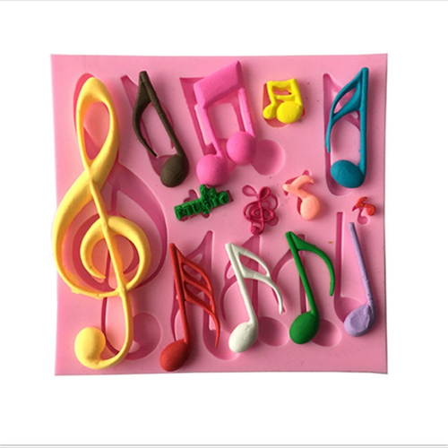 Music Note Mold  PM462