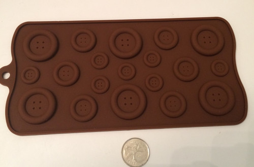 Button  Silicone Mold Set