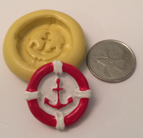 Small Anchor Silicone Mold