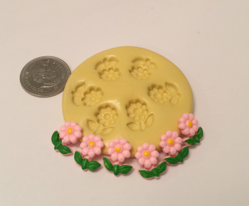 Mini Flower Daisy Silicone Mold Set