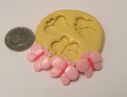 Small Butterfly Silicone Mold Set