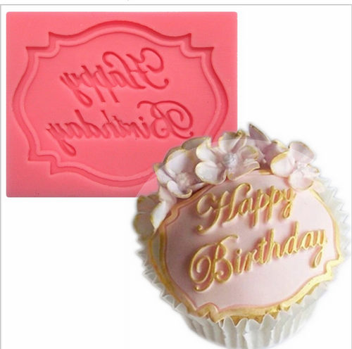 Birthday Plaque Mold PM410