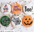 I put a spell on you  Halloween  Fondant /Cookie Embosser