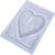 Skeleton Heart   - 3 Part Mold