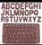 Alphabet  Letter Silicone Mold Set