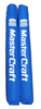 MasterCraft Blue Trailer Guide Pole Covers - Heavy Duty & Capped (001-MCGUIDES-BLUE)