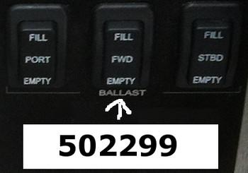 Mastercraft - FWD Ballast Switch '12-'14 (502299)