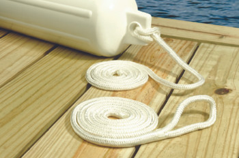 Seachoice Double Braided Nylon Fender Line (2 Per Pack)