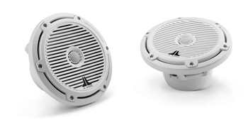 M-Series 7.7 inch Marine Cockpit Coaxial System - White Classic Grille