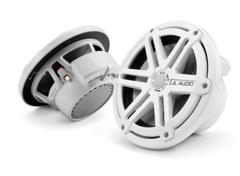 JL Audio 7.7 inch Cockpit Coaxial System - White Sport Grille
