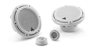 JL Audio 7.7 inch Marine Cockpit Component System - White Classic Grille