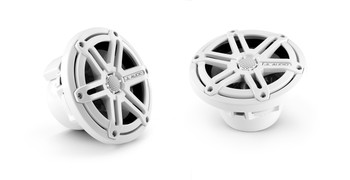 JL Audio 6.5 inch Cockpit Coaxial System, White Sport Grille