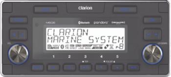 Clarion Marine M608 Bluetooth Watertight 4-Zone Digital Media Receiver