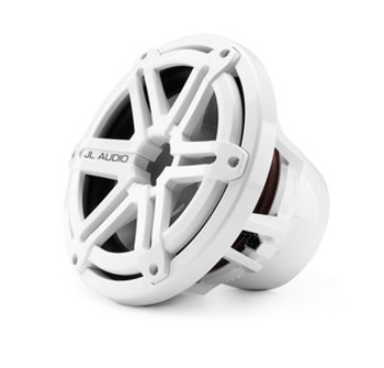 JL Audio 10-inch Marine Subwoofer Driver, White Sport Grille