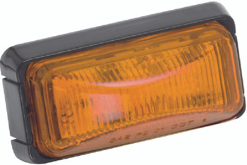 Wesbar Amber Marker/Clearance Lamp with Black Base