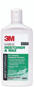 3M Marine Restorer & Wax | 16.9oz