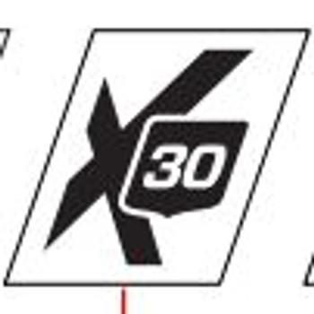 MasterCraft Trailer Designator X30 Decal for Large Stripe