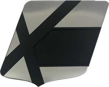 X Series Large Shield Decal